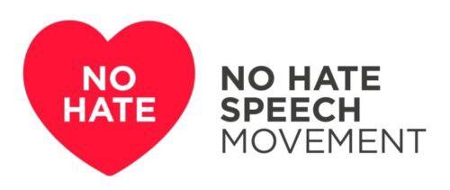 """Logotipo de la campaña """"No Hate Speech Movement"""""""